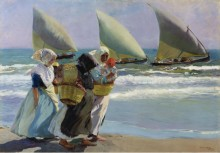 Три паруса, 1903 - Соролья, Хоакин