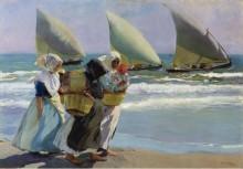Три паруса, 1903 - Бастида, Хоакин Соролла
