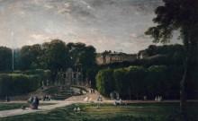 Парк в Сен-Клу - Добиньи, Шарль-Франсуа