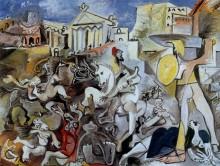 Похищение сабинянок, 1962 - Пикассо, Пабло