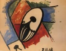 Этюд, 1948 - Пикассо, Пабло