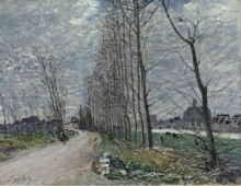 Вид на Море-сюр-Луан, 1890 - Сислей, Альфред