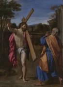 Явление Христа Святому Петру на Аппиевой дороге - Карраччи, Аннибале