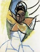 Этюд женщины - Пикассо, Пабло