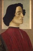 Портрет Джулиано де Медичи - Боттичелли, Сандро