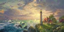 Пейзаж с маяком - Кинкейд, Томас