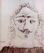 Портрет человека, семнадцатого века, 1967 - Пикассо, Пабло