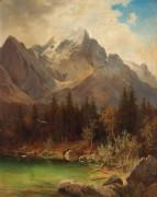 Альпийский пейзаж - Кирниг, Алоис