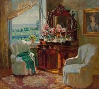 Интерьер комнаты - Жуковский, Станислав Юлианович