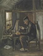 Человек, наматывающий пряжу (Man Winding Yarn), 1884 - Гог, Винсент ван