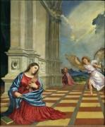 Благовещение - Тициан Вечеллио