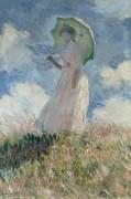 Этюд фигуры на плэнере, 1886 - Моне, Клод