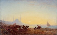 Сражение у Константинополя -  Зим, Феликс
