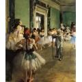 Танцевальный класс, 1871-1874 - Дега, Эдгар
