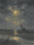 Лунная ночь в море - Айвазовский, Иван Константинович