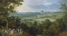 Разговор эрцгерцогов, 1611 - Брейгель, Ян (Старший)