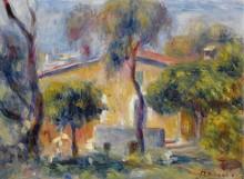 Дом в Кань-Сюр-Мер, 1908 - Ренуар, Пьер Огюст
