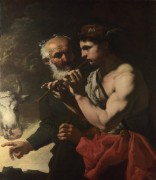 Меркурий играет для Аргуса - Лот, Иоганн Карл