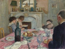После завтрака в доме Ренуара, 1917 - Андре, Альберт