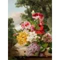 Натюрморт. Цветы. 1865 - Уэйнрайт, Джон