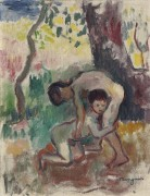 Борющиеся дети - Манген, Анри