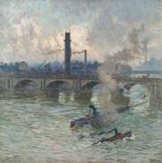 Лодки на Темзе, 1916 - Клаус, Эмиль
