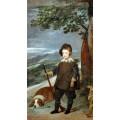 Портрет принца Бальтазара Карлоса на охоте - Веласкес, Диего