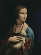 Дама с горностаем - Винчи, Леонардо да
