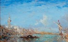 Венецианский пейзаж -  Зим, Феликс