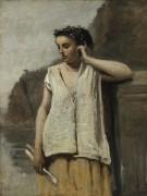 Клио, муза истории - Коро, Жан-Батист Камиль