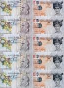 Фальшивые £ 10 с изображением леди Ди - Бэнкси