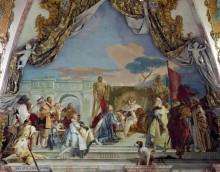Инаугурация Гарольда как герцога Франконского - Тьеполо, Джованни Баттиста