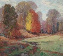 Осень в Новой Англии, 1943-49 -  Бюхр, Карл Альберт