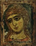 Архангел Гавриил из оглавного деисусного чина. (Ангел Златые власы) (ок.1200)