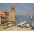 Порт Коллиура, 1920 - Мартин, Анри Жан Гийом Мартин