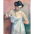 Женщина в рубашке, Жанна - Манген, Анри