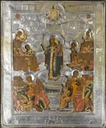 Икона Б.М. Всех скорбящих радость (начало XIX века)
