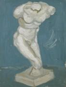 Мужской гипсовый торс (Plaster-Torso (male), 1886 - Гог, Винсент ван