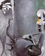 Художник и его модель, 1965 - Пикассо, Пабло