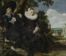Семейный портрет Исаака Массы и его жены - Хальс, Франц