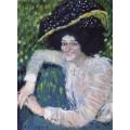 Портрет улыбающейся дамы - Пикассо, Пабло