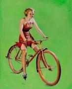Велосипедистка - Элвгрен, Джил