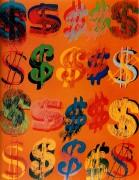 Знак доллара (Dollar Signs), 1981 - Уорхол, Энди