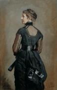 Художница Кейт Перуджини, урожденная Макриди Диккенс, дочь писателя Чарльза Диккенса - Милле, Джон Эверетт