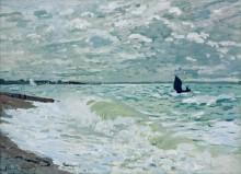 Море близ Сен-Адресс - Моне, Клод
