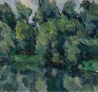 Деревья на берегу реки, 1921 - Кончаловский, Пётр Петрович