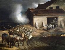 Печь для обжига извести - Жерико, Теодор Жан Луи Андре