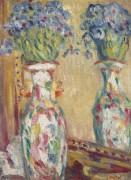 Ваза с цветами у зеркала - Вальта, Луи