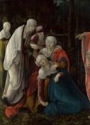 Христос прощается с матерью - Губер, Вольф