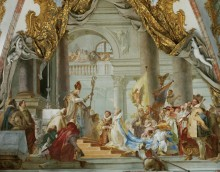 Бракосочетание императора Фридриха Барбароссы с Беатрис Бургундской - Тьеполо, Джованни Баттиста